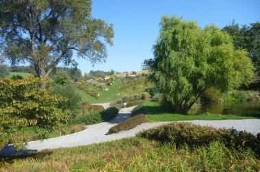 Arboretum w Wojsławicach jesienią