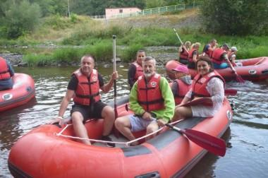 Spływ pontonowy – było super!