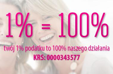 Wasz 1% to 100% naszego działania!