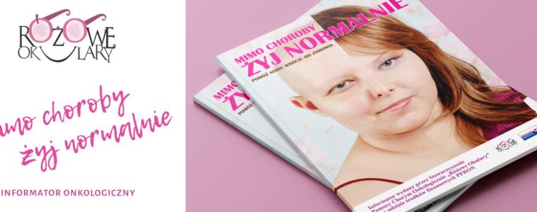 Zrzutka Informator Onkologiczny Mimo Choroby Żyj Normalnie Różowe Okulary